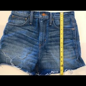 Madewell the perfect shorts